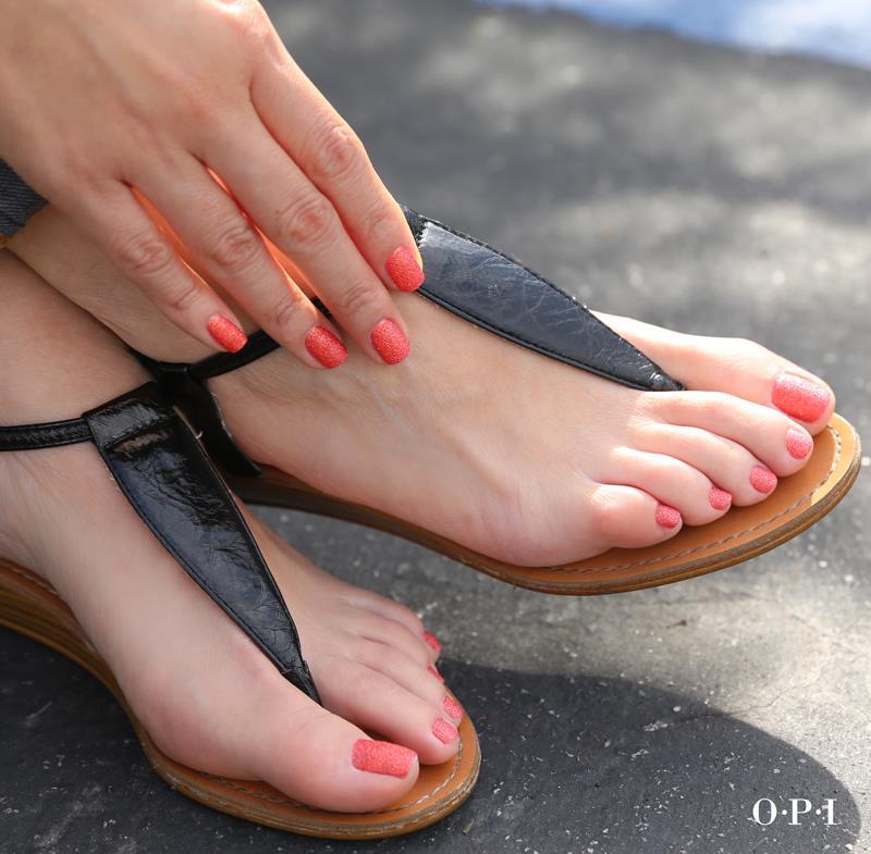 Pose vernis mains / pieds OPI