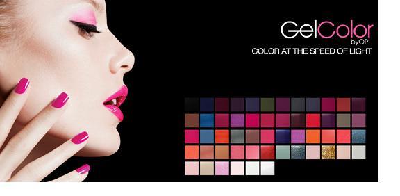 Palette GelColor OPI